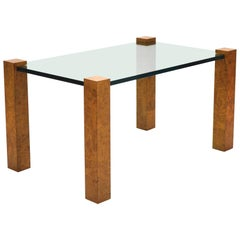Harvey Probber Cube Leg Table by Directional
