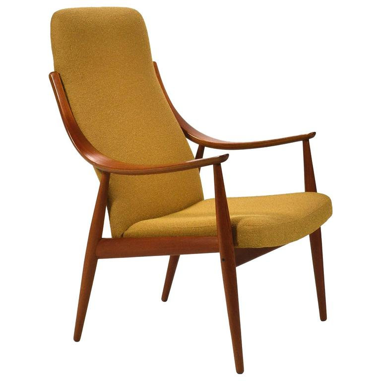 Peter Hvidt U0026 Orla Mølgaard Nielsen High Back Easy Chair For Sale
