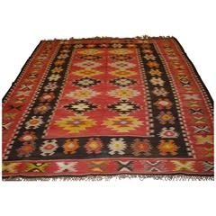 Old Anatolian Sharkoy Kilim, Western Turkey