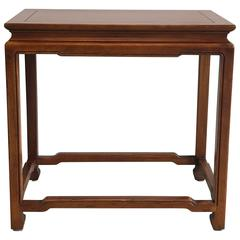1960s Ming Style Side Table