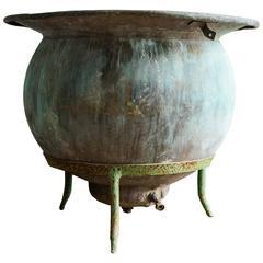 French Bonnet Copper Vat