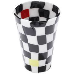 Gianni Versace for Venini Pezzati Glass Vase 98
