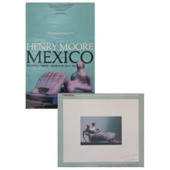 "Lot of Two ""Signed"" Henry Moore Exhibition Posters Dated 1976 & 1982, Palm Beach"
