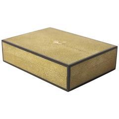 Shagreen and Ebony Box