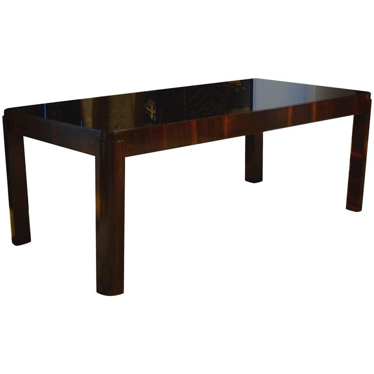 American Art Deco Table Attributed to Eugene Schoen