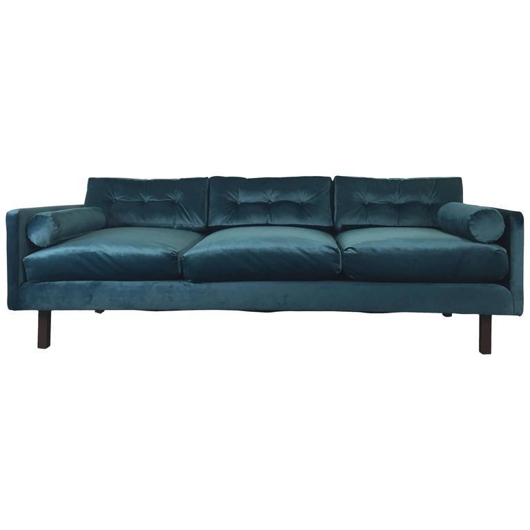 Harvey Probber Tuxedo Sofa for John Stuart 1
