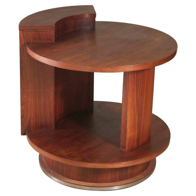 Etienne Kohlmann Modernist Side Table For Sale