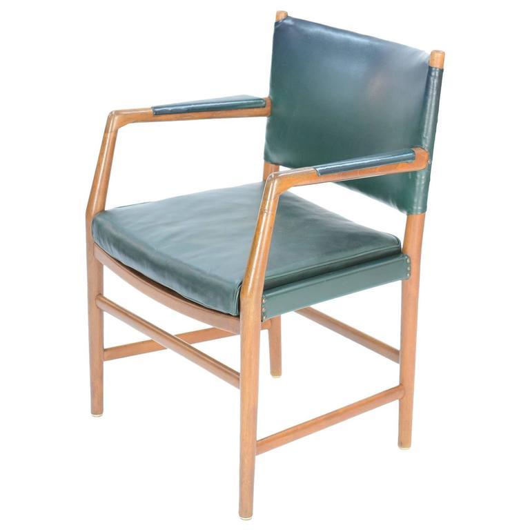 First Production Hans Wegner Aarhus City Hall Desk Chair for Planmobler, 1940 1