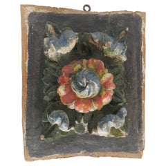 18th Century Giltwood Wall Decorative Plaque