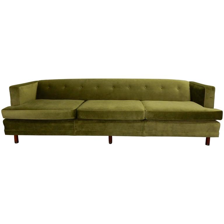 Tuxedo Sofa in the Style of Edward Wormley 1
