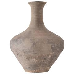Chinese 2nd Century B.C. Han Dynasty Vase, Ling Bao, Henan Province