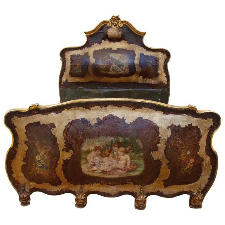 19th Century Venetian Bed