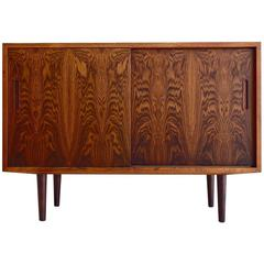 Aage Hundevad Sideboard with Sliding Doors and Interior Drawers