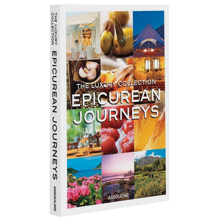"""The Luxury Collection: Epicurean Journeys"" Book For Sale"