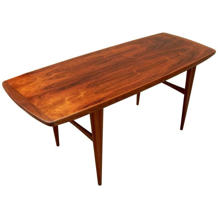 Swedish Mid-Century Modern Rosewood Coffee Table #10 For