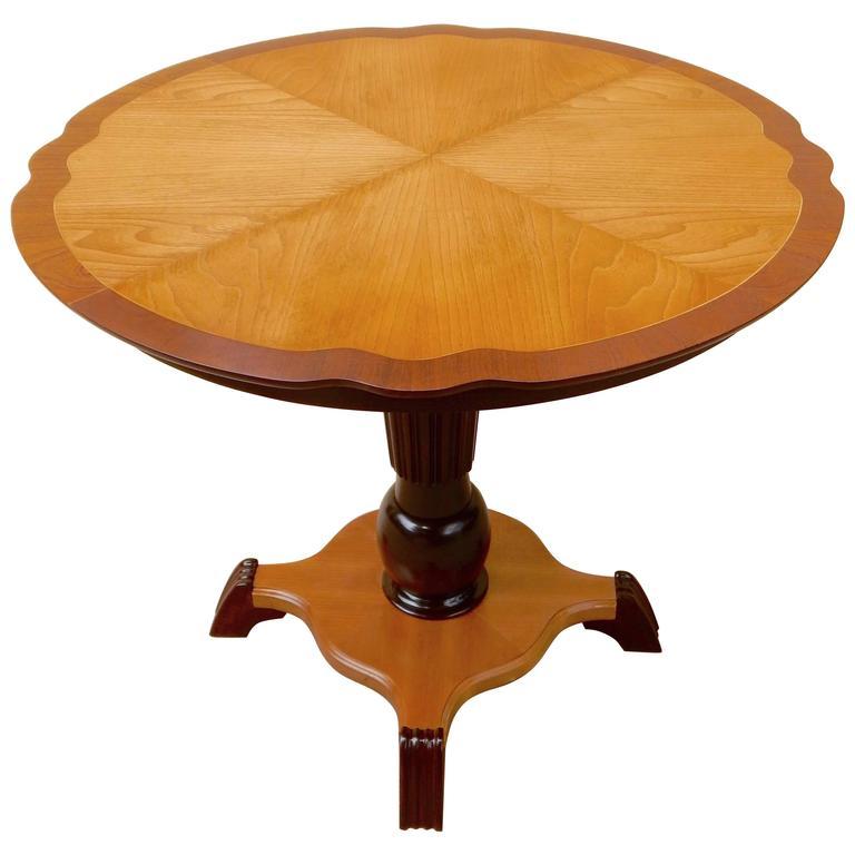 Swedish Art Moderne Game Table, circa 1940
