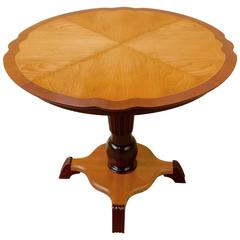 Swedish Art Moderne Game Table, circa 1940