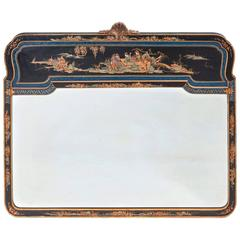 Early 20th Century Chinoiserie Queen Anne Influenced Mirror