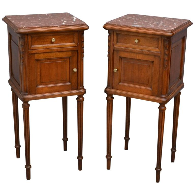 Attractive Pair Of Bedside Cabinets