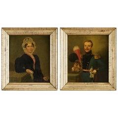 Pair of Belgian Portraits