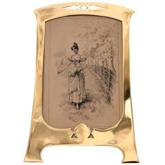 Art Nouveau Picture Frame
