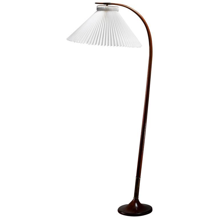 Severin Hansen Floor Lamp, Denmark, 1950s