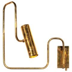 Brass Handmade Pivot Light Wall Sconce Designed by Christopher Gentner