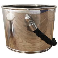 Black Rope Ice Bucket