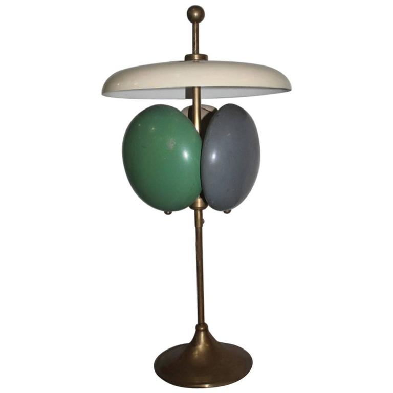 Table Lamp Particular 1950s Italian Design