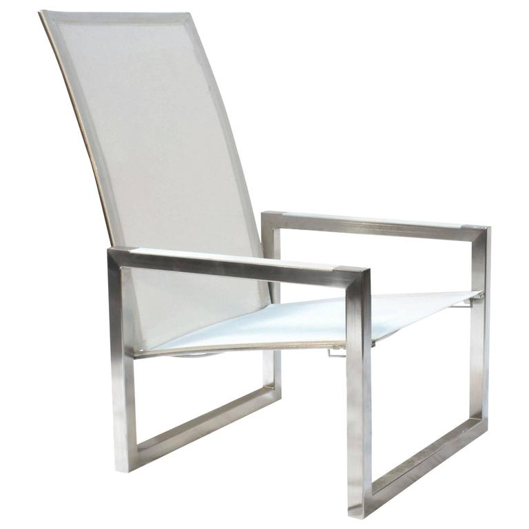 White Ninix 60 Outdoor Dining Lounge Armchair By Royal