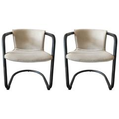 Bowery Chairs, Natural, Black