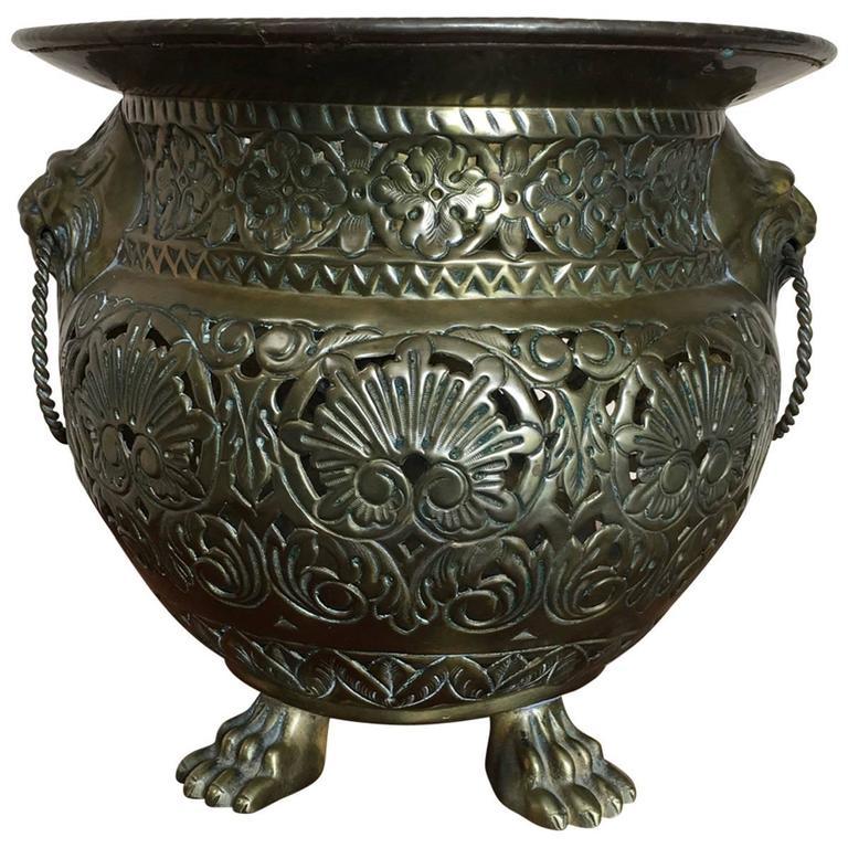19th century brass napoleon iii jardini re for sale at 1stdibs for Jardiniere napoleon 3