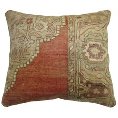 Tradtional Turkish Sivas Rug Pillow