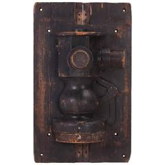 Industrial Wooden Mold Hanging Wall Art Piece