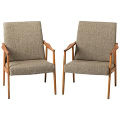 Lovely Wooden Armchairs
