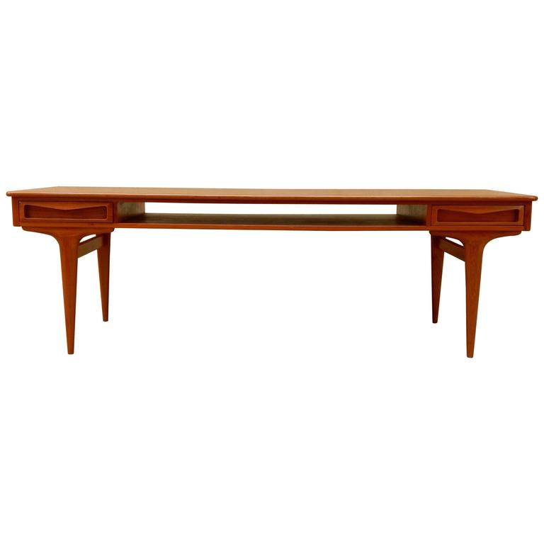 Coffee Table by Johannes Andersen, Denmark, 1960s For Sale