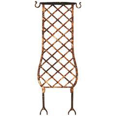 Reclaimed Wrought Iron Trellis/Balustrade Sections, circa 1900