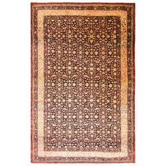 Antique Persian Tehran Carpet
