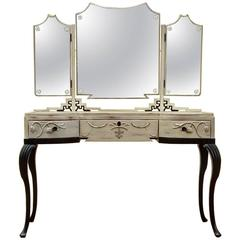 Swedish Grace Era Gustavian Revival Vanity, circa 1920