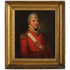 Portrait of Major Thomas Summerfield Irishman, British army private