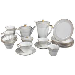 Royal Tettau Ria Mid-Century Modern Coffee and Tea Service for Eight
