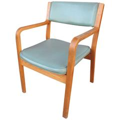 Thonet Oak Armchairs