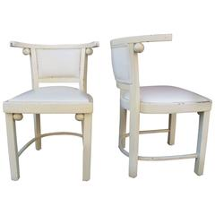 Pair of Chairs, Manner of Josef Hoffmann
