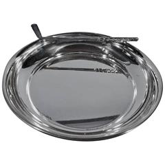 American Sterling Silver Sports Novelty Bowl with Golf Club
