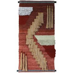 Large Scale Wall Hanging Fiber Art = MOVING SALE!!!!!!