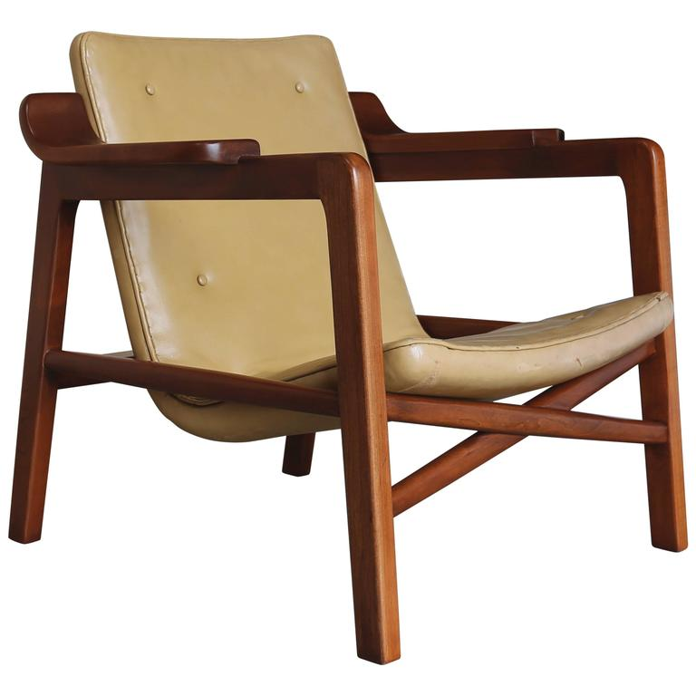 """""""Fireplace"""" Chair by Tove & Edvard Kindt Larsen"""