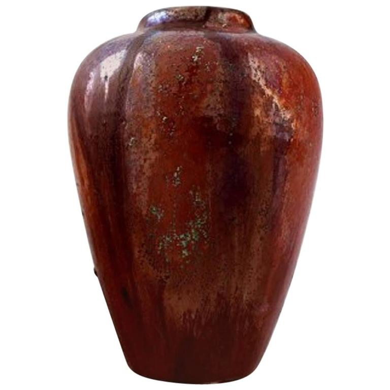Vase by Soren Kongstrand, Large and Impressive Danish Private Collection