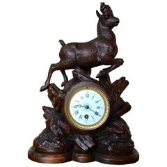 19th Century Black Forest Clock