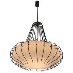 Angelo Lelli for Arredoluce Ceiling Lamp