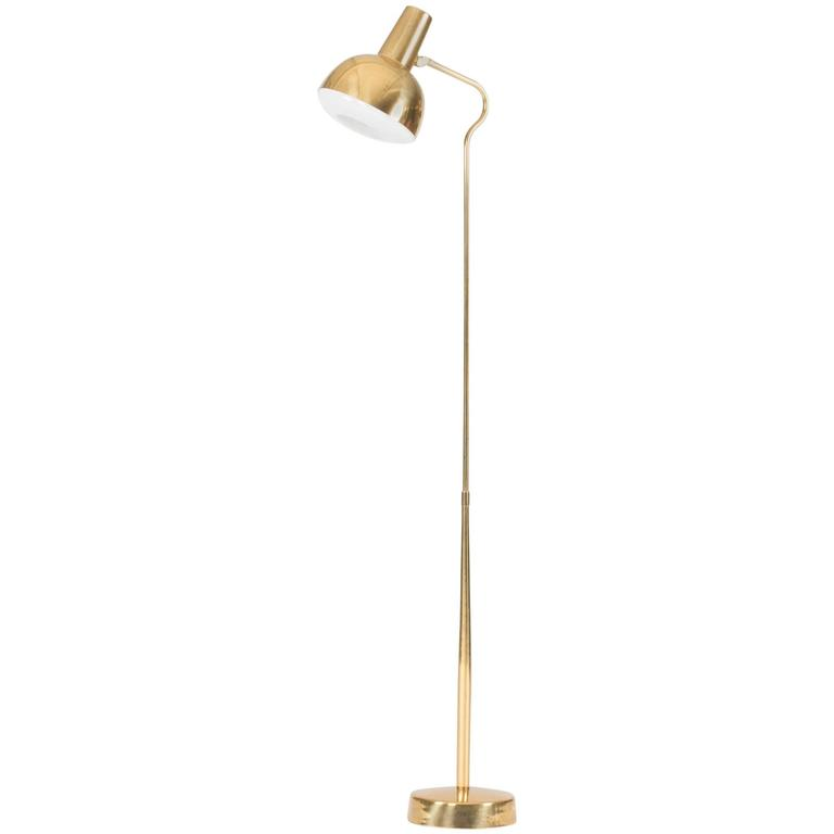 Brass Floor Lamp from ASEA